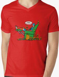 Screw Tomorrow! Mens V-Neck T-Shirt