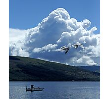 Flight Over Loch Fyne Photographic Print