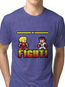'FIGHT!' Tri-blend T-Shirt