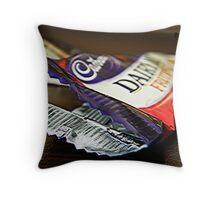Cadbury anyone? ;) Throw Pillow