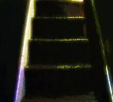 Stairs to the Madwoman's Attic by RC deWinter