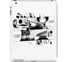 Black Bullet - Rentarō VS Kagetane iPad Case/Skin