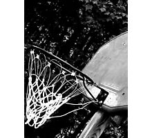 Basketball Hoop Photographic Print