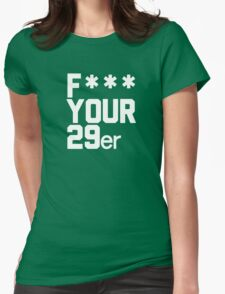 I love 29ers Womens Fitted T-Shirt