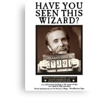 Have you seen this wizard? Canvas Print