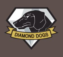 Metal Gear Solid - Diamond Dogs over Heart by crimzind