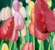 tulips by Leeanne Middleton