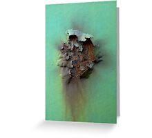 A Rusty Crust Greeting Card