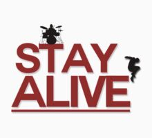 Stay Alive Jump Kids Clothes