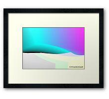 Desert Sand Dune Dreamscape Framed Print