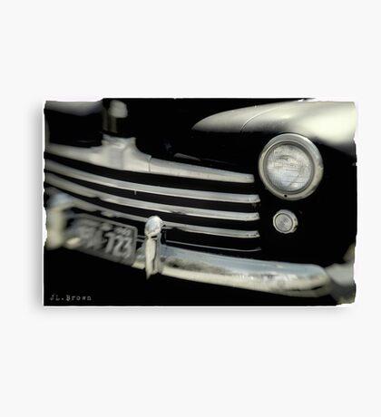 BLACK CARS Canvas Print