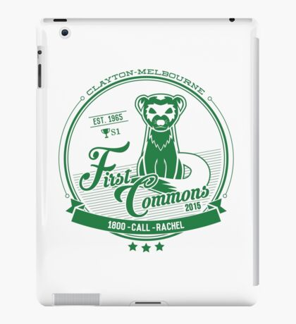 First Commons Collection iPad Case/Skin