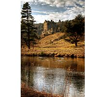 Late Afternoon, Neidpath Castle Photographic Print