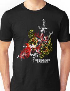 Muscle Demon 3D Collage  Unisex T-Shirt