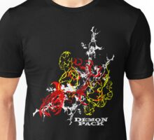 Muscle Demon 3D Collage  Unisex T-Shirt