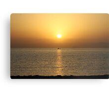 Egyptian Sunrise Canvas Print