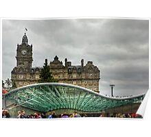 Princes Mall Entrance Canopy Poster