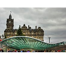 Princes Mall Entrance Canopy Photographic Print