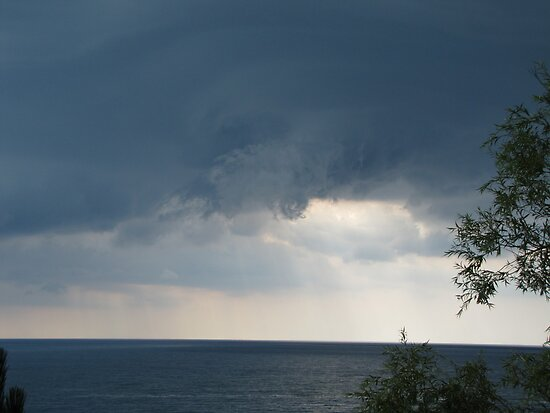 funnel cloud beginnings by Leeanne Middleton