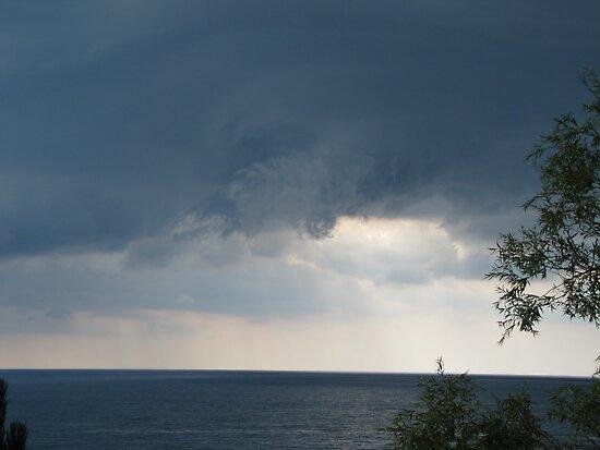 funnel cloud beginnings by Leeanne Middleton