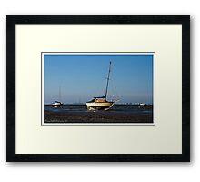 Leigh-on-Sea in the morning light Framed Print