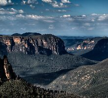 Grose Valley | Blue Mountains Australia by DavidIori