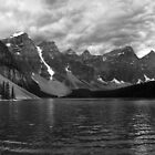 Morainorama - Moraine Lake, Lake Louis by SturgeonPhoto