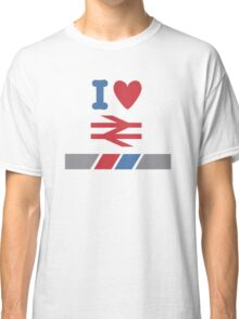 I Heart British Rail/Network Southeast Classic T-Shirt