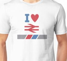 I Heart British Rail/Network Southeast Unisex T-Shirt