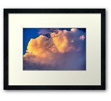 Beautiful Stormy Sky Framed Print