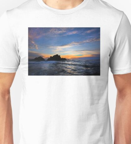Big Sur sunset  Unisex T-Shirt