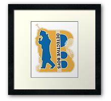 Detective Boys Framed Print