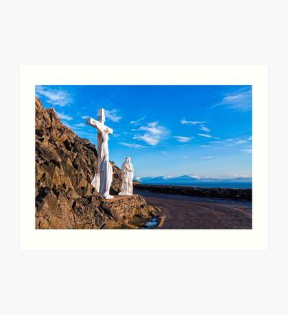 Christ On The Cross - Slea Head Road - Ireland Art Print