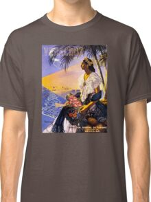 Veracruz Mexico Vintage Travel Poster Restored Classic T-Shirt