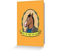 Bojack Horseman Greeting Card