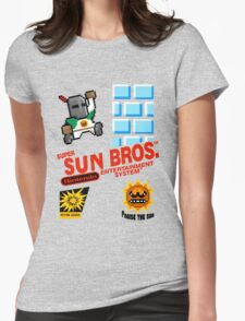 super sun bros. Womens Fitted T-Shirt