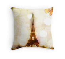 LA DAME DE FER (THE IRON WOMAN) Throw Pillow