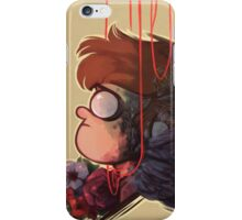 A BIRD WITH NO VOICE iPhone Case/Skin