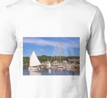 Seaport Scenery Unisex T-Shirt