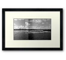 Wetlands - Dangars Lagoon, Northern Tablelands, NSW, Australia Framed Print