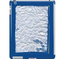 Distressed Paper. iPad Case/Skin
