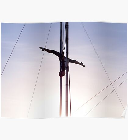 Trapeze Artist Poster