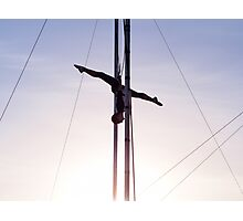 Trapeze Artist Photographic Print