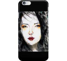 Oriental darling iPhone Case/Skin
