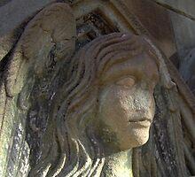 Angel Sphinx by RandomLlama