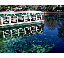 The Glass Bottom Boat Photographic Print