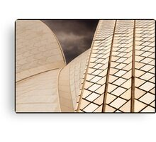 AB013 Sydney Opera House ceramic roof tiles Canvas Print
