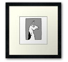 Llama Llama Framed Print