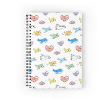 Cute airplanes Spiral Notebook