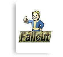 Vault Boy - Fallout Canvas Print